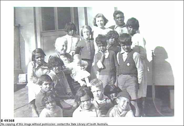 Children at the Mission, Swan Reach