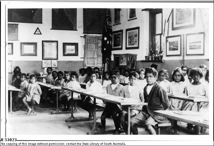 Classroom, Point McLeay