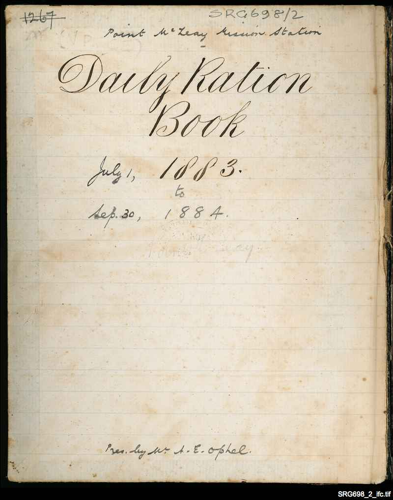 Daily ration book