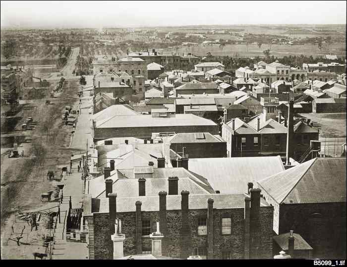 Panorama of Adelaide 1865