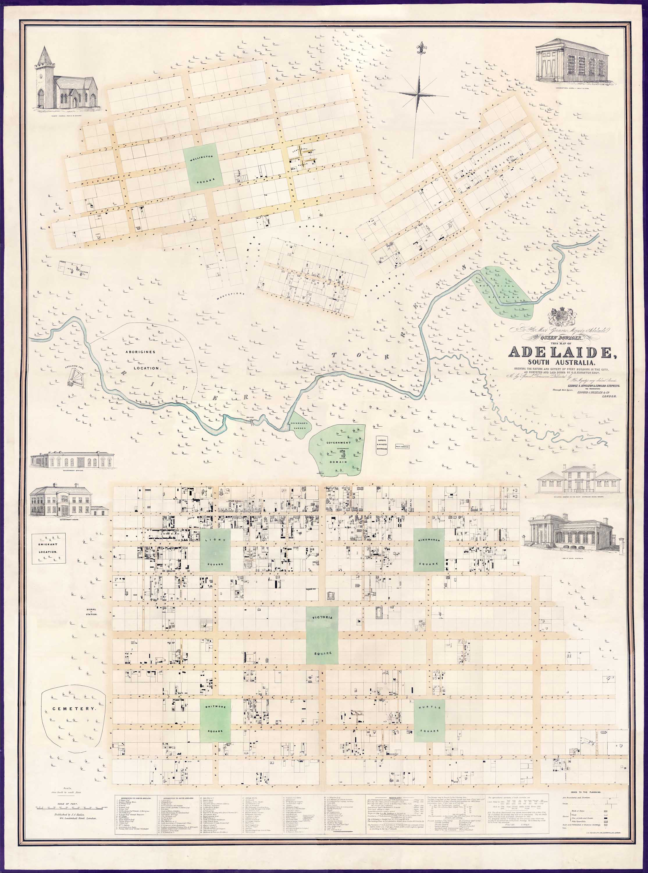 Adelaide : Kingston Map