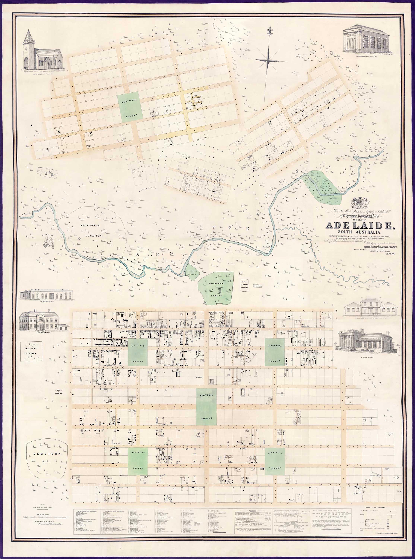 Adelaide : Kingston Map