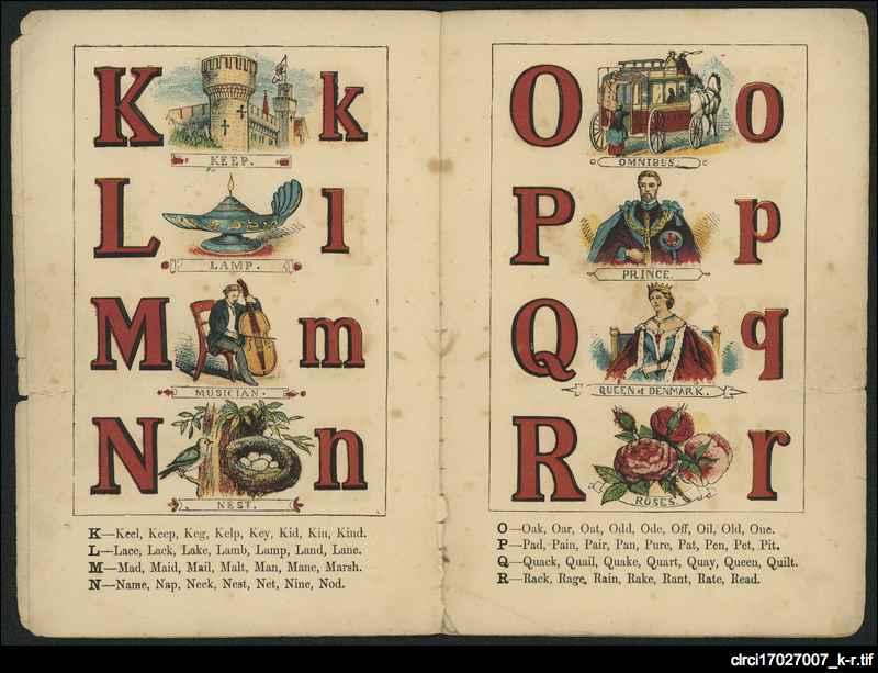 Alexandra alphabet