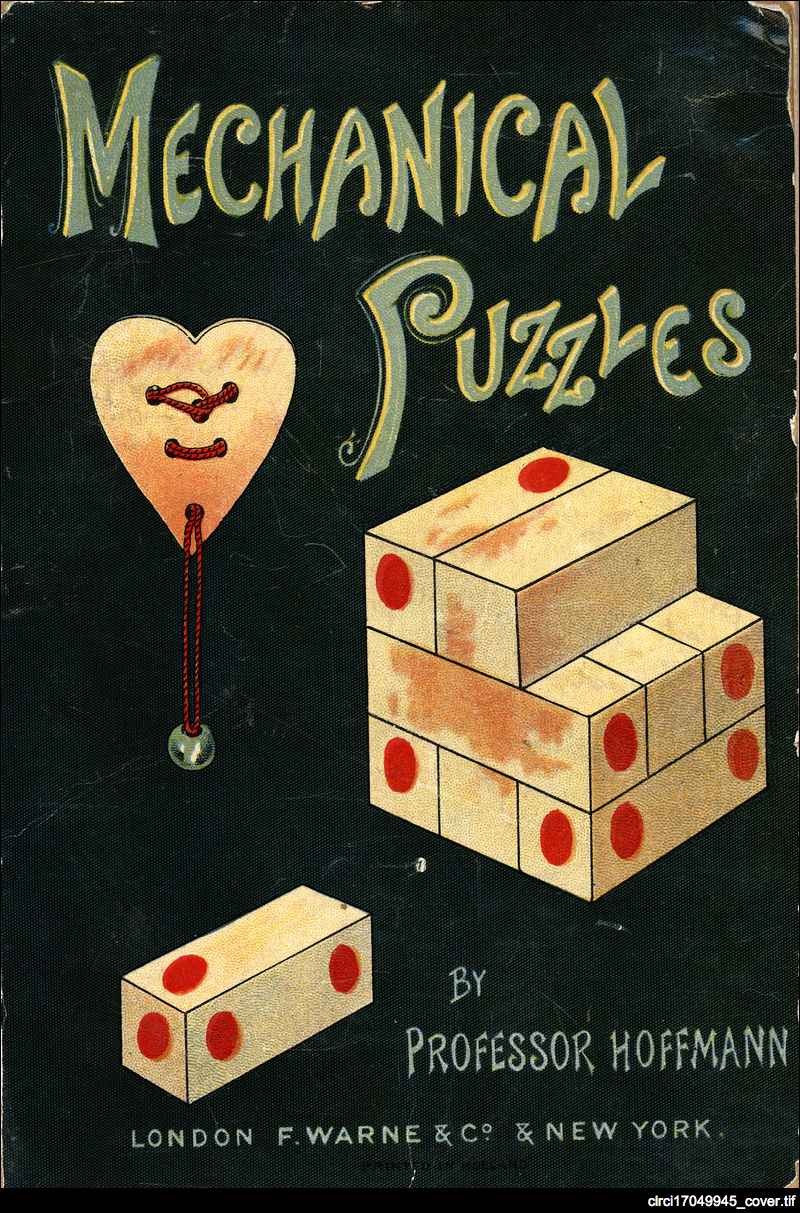 Mechanical puzzles