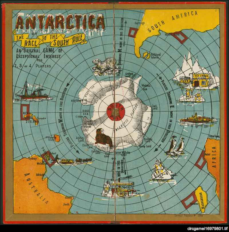 Antarctica or, The race to the South Pole ...