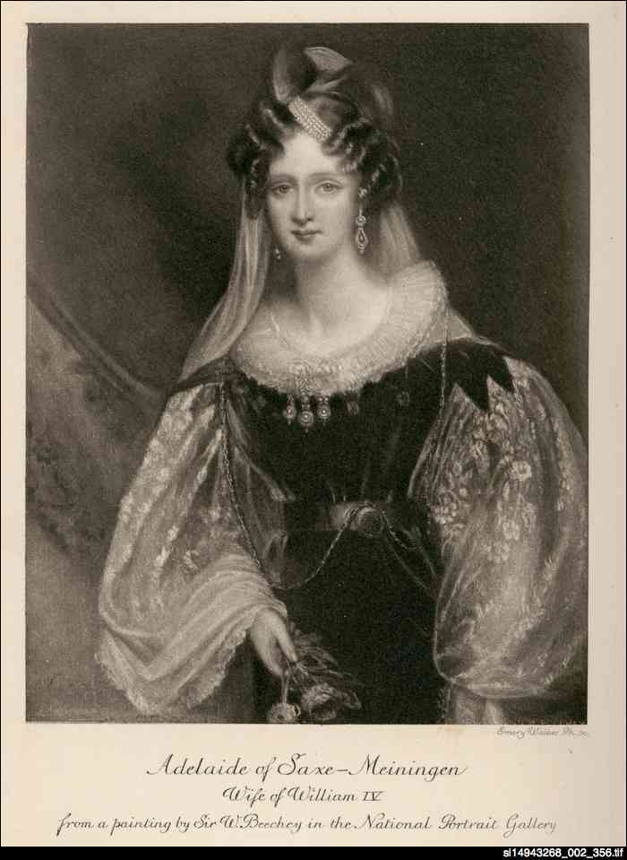 Adelaide, wife of William IV