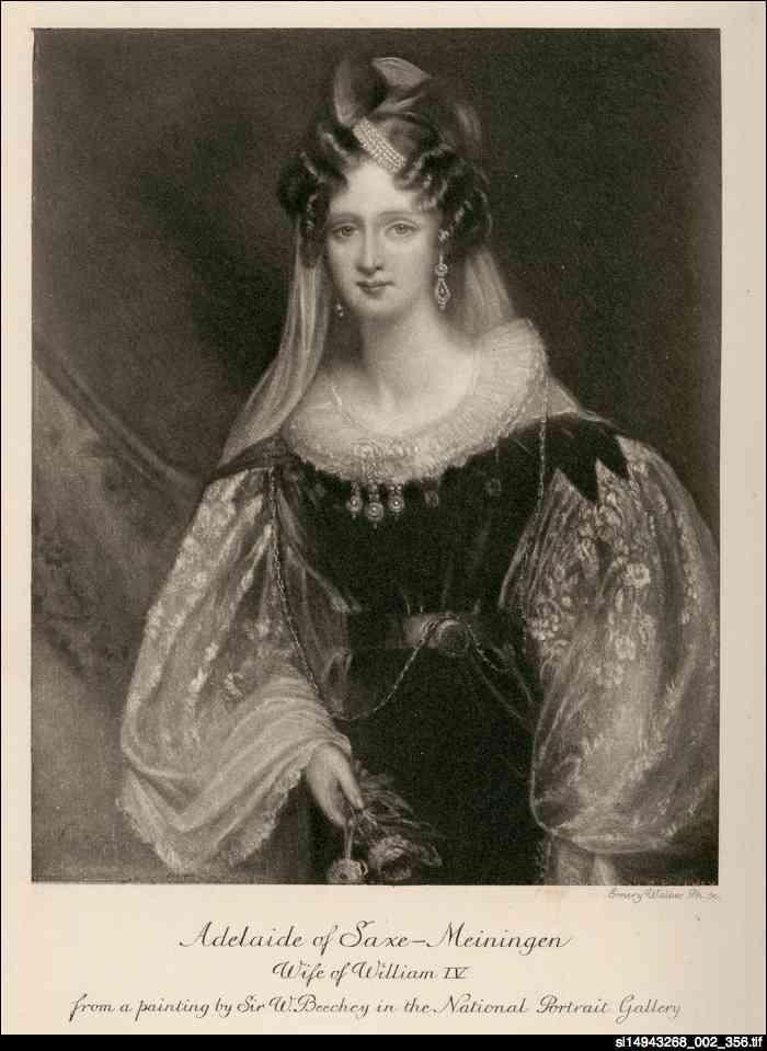 Adelaide, wife of William IV