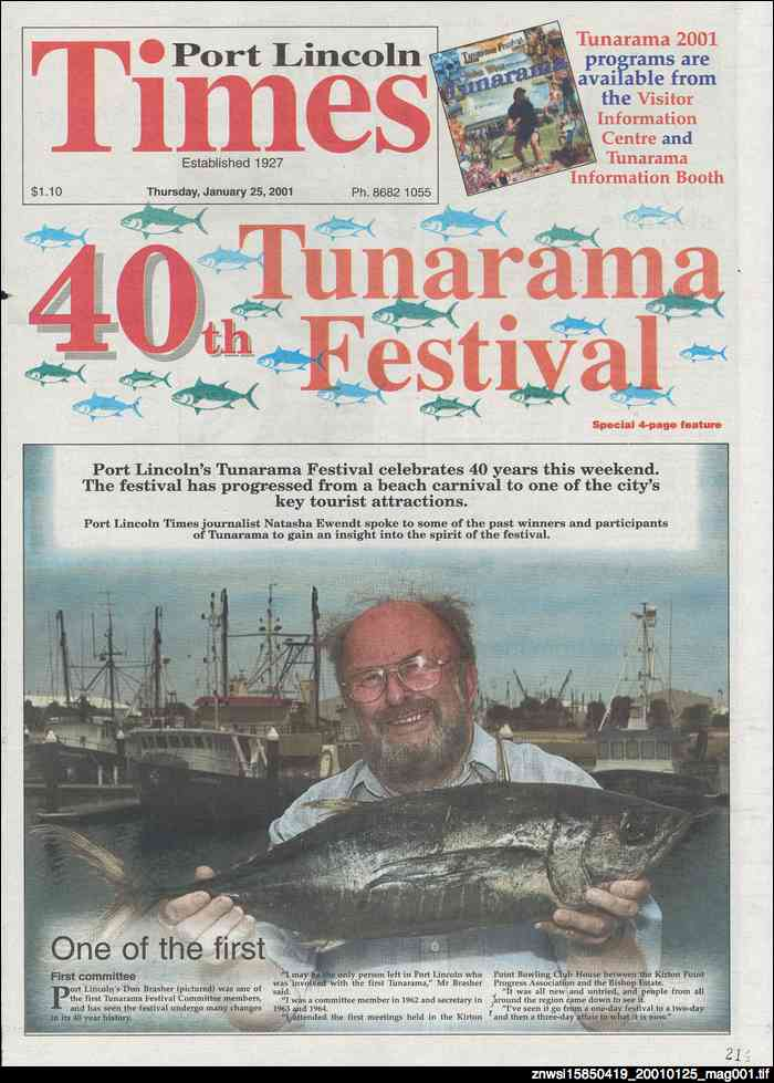40th Tunarama Festival