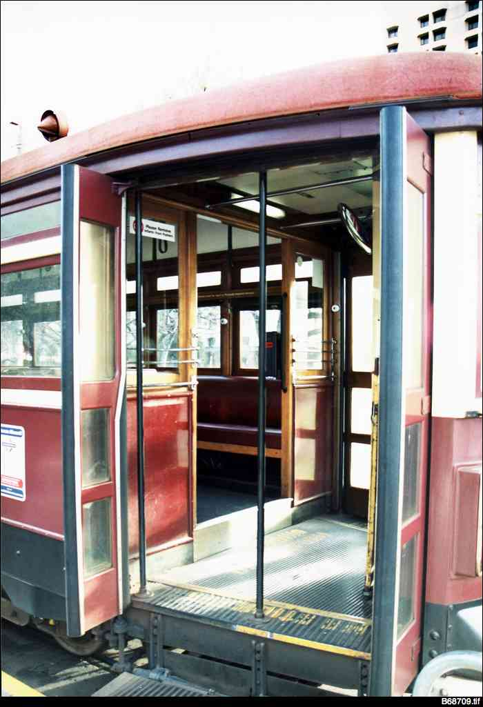 Glenelg tram entrance
