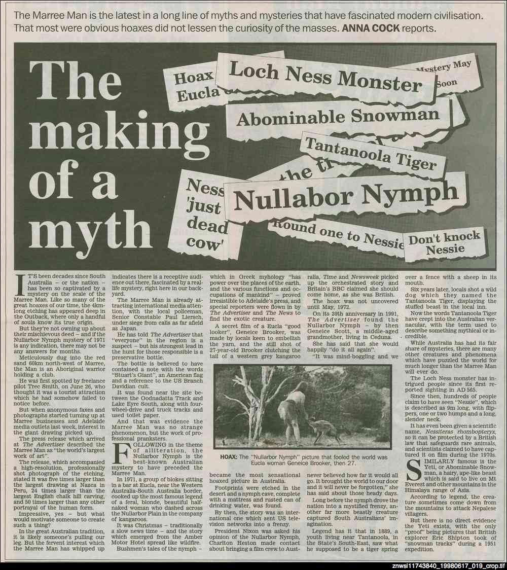 The making of a myth