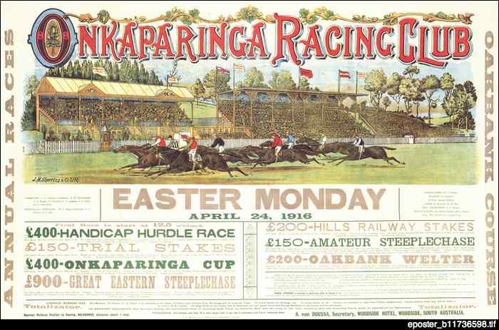 Onkaparinga Racing Club : poster