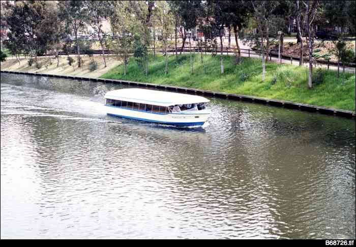 'Popeye' on the River Torrens