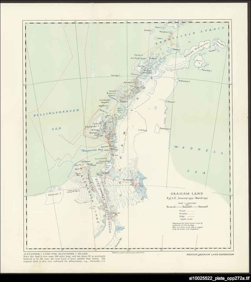 Graham Land map