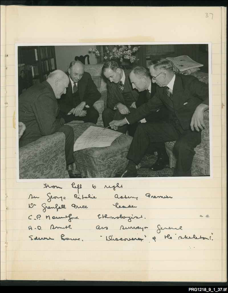03. 1938 South Australian Government expedition party