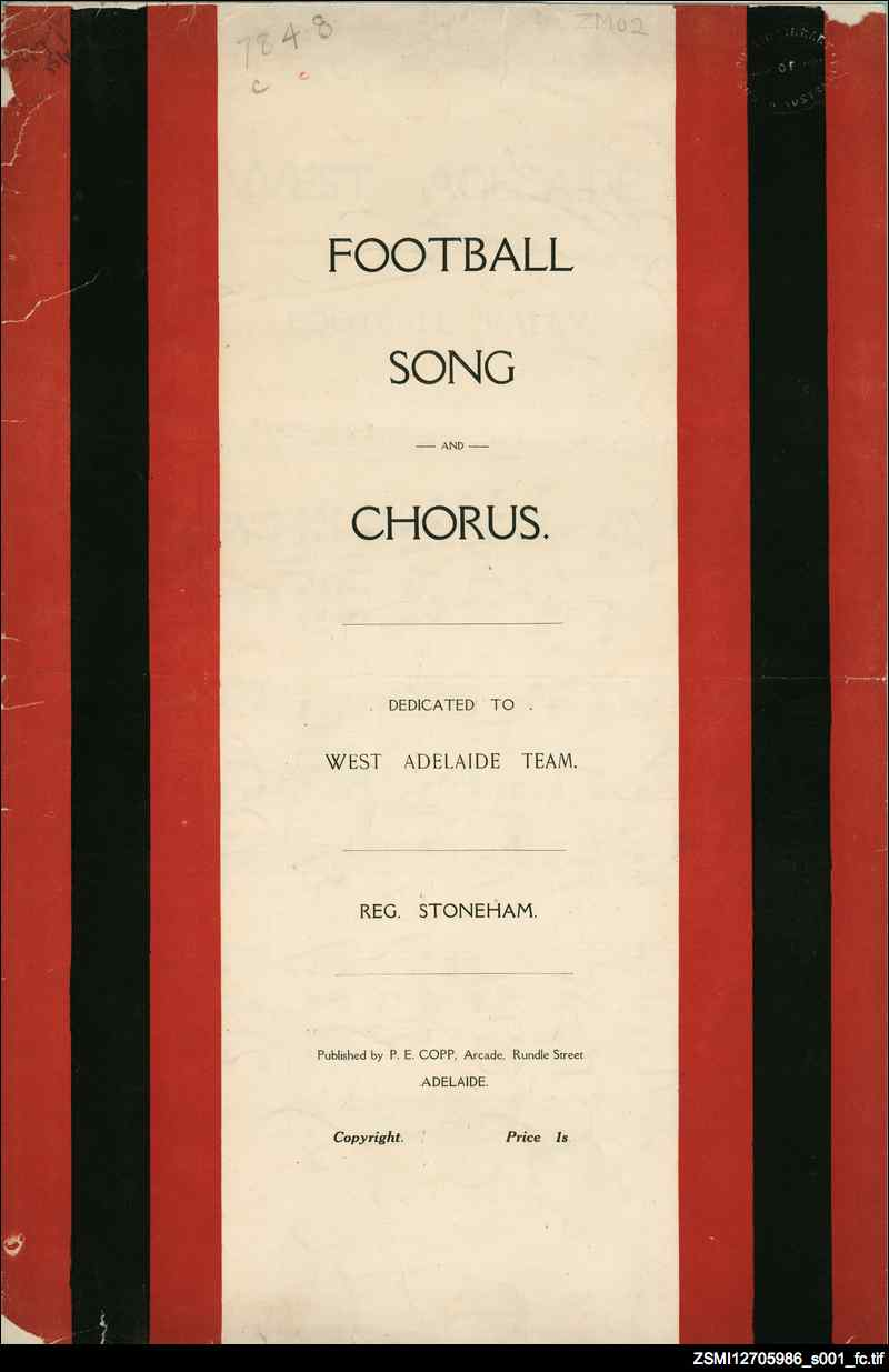 Football song and chorus