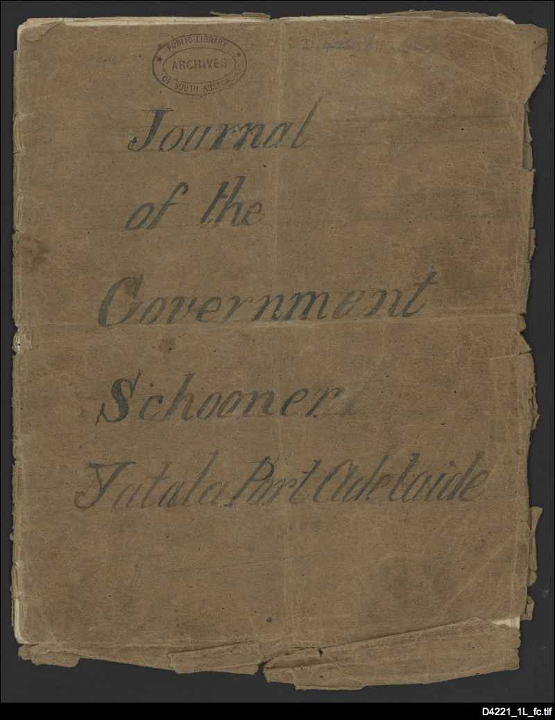 Journal of Edward Dowsett (pages 1-8)