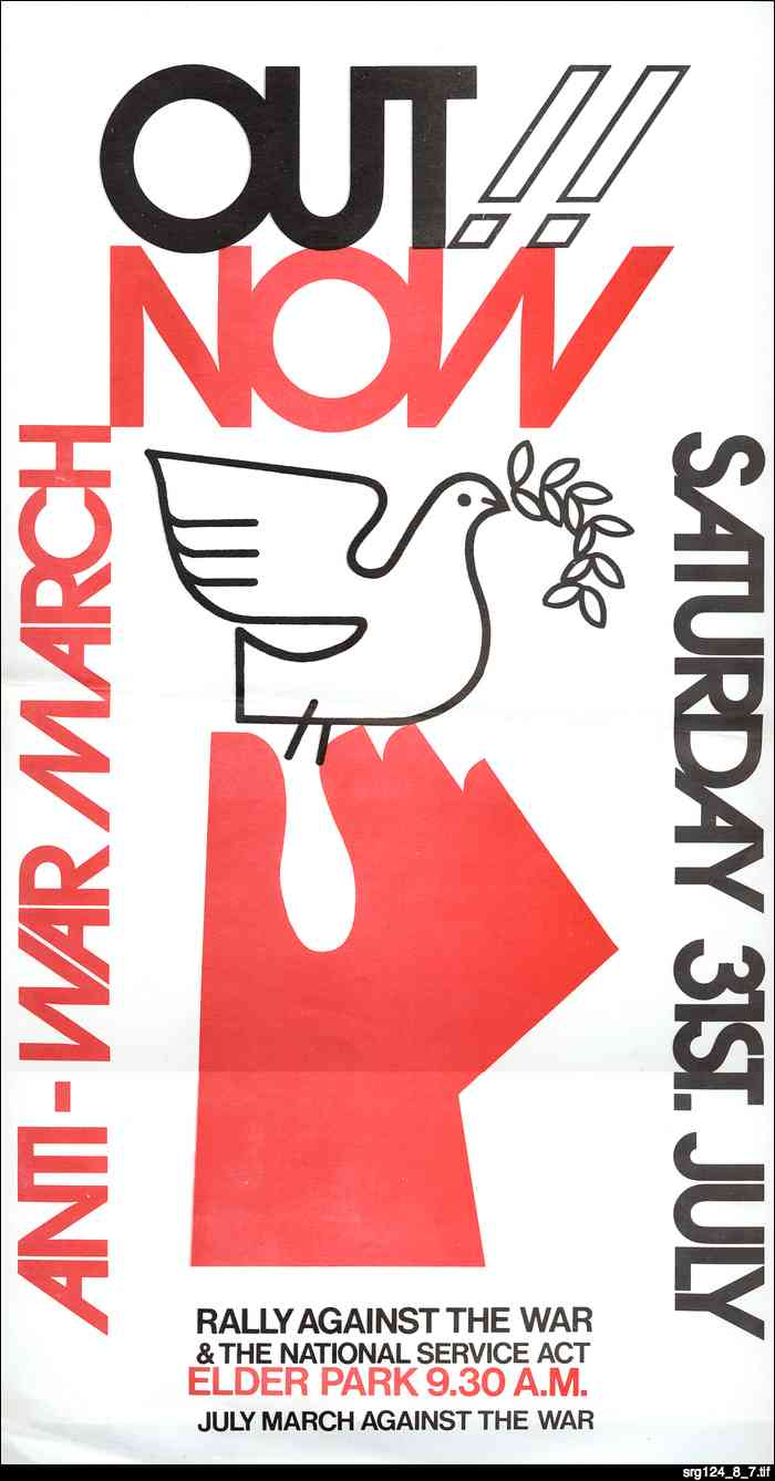 Out now : Anti-War March