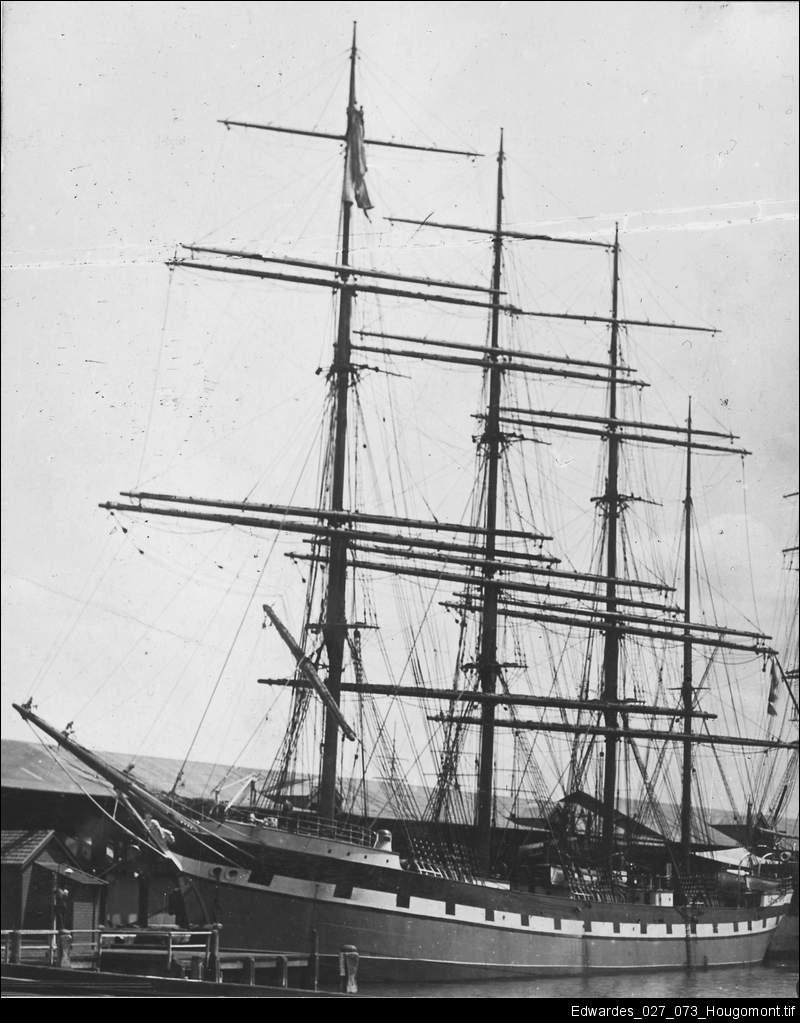 Steel barque Hougomont