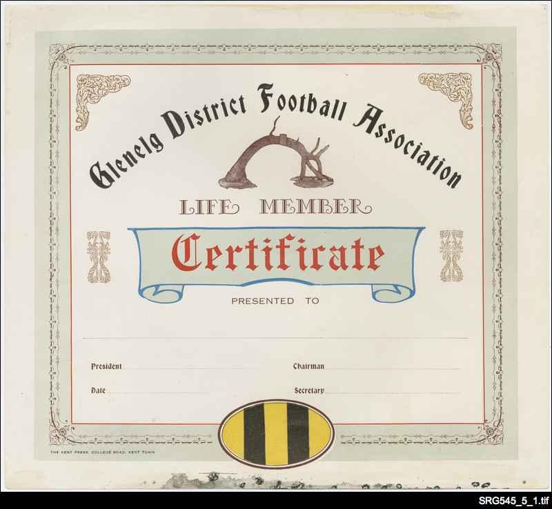 Glenelg District Football Association