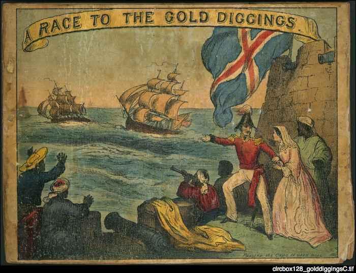 gold-diggings