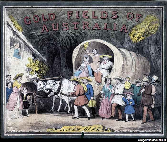 Gold fields of Australia