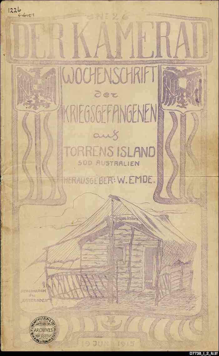 Der Kamerad : a periodical issued by Germans interned on Torrens Island