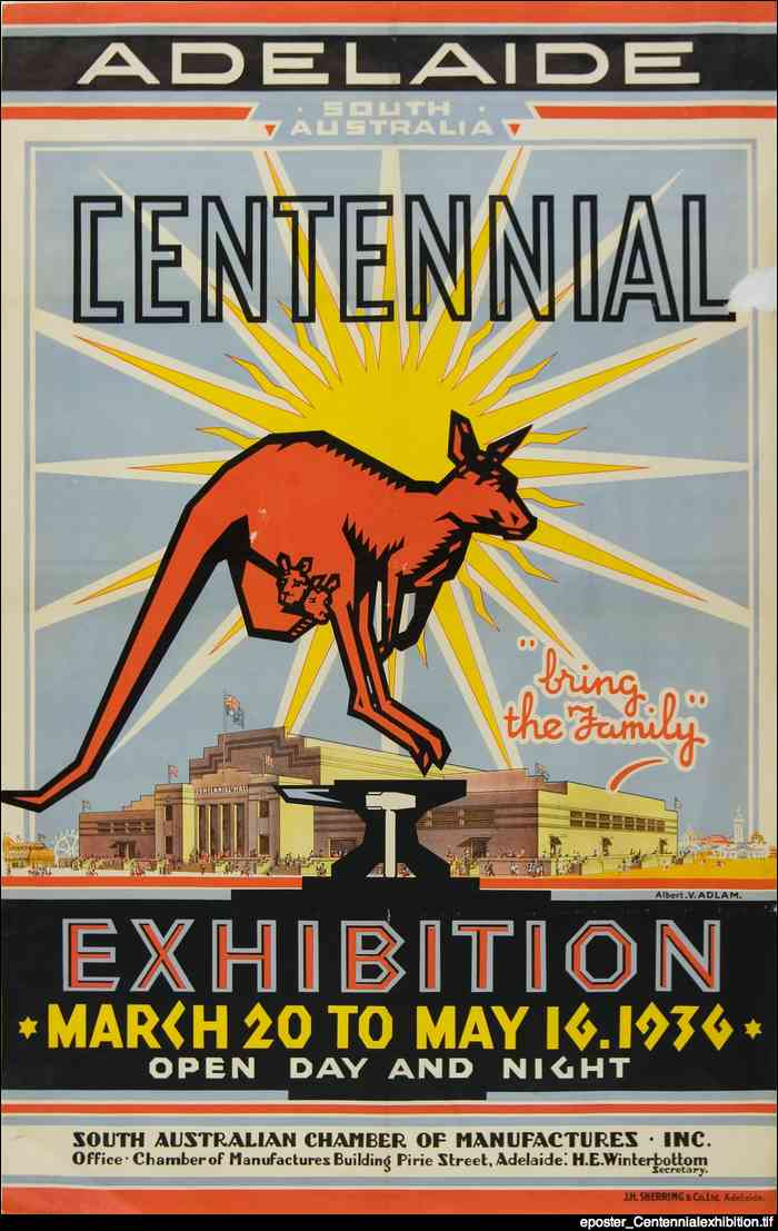 Centennial exhibition