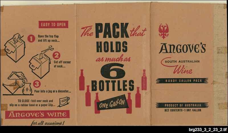 Angove's wine cask