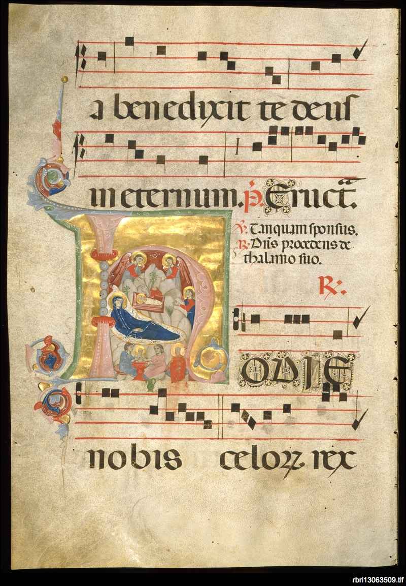 Antiphonarium ad laudes vesperas, et magnificat a nat.