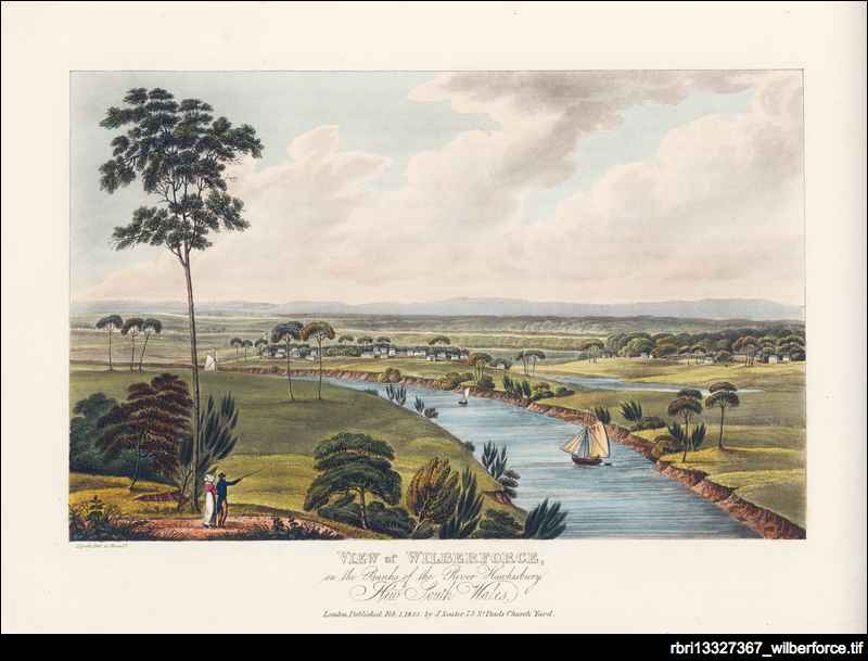 Views in Australia, or, New South Wales & Van Diemen's Land delineated ...