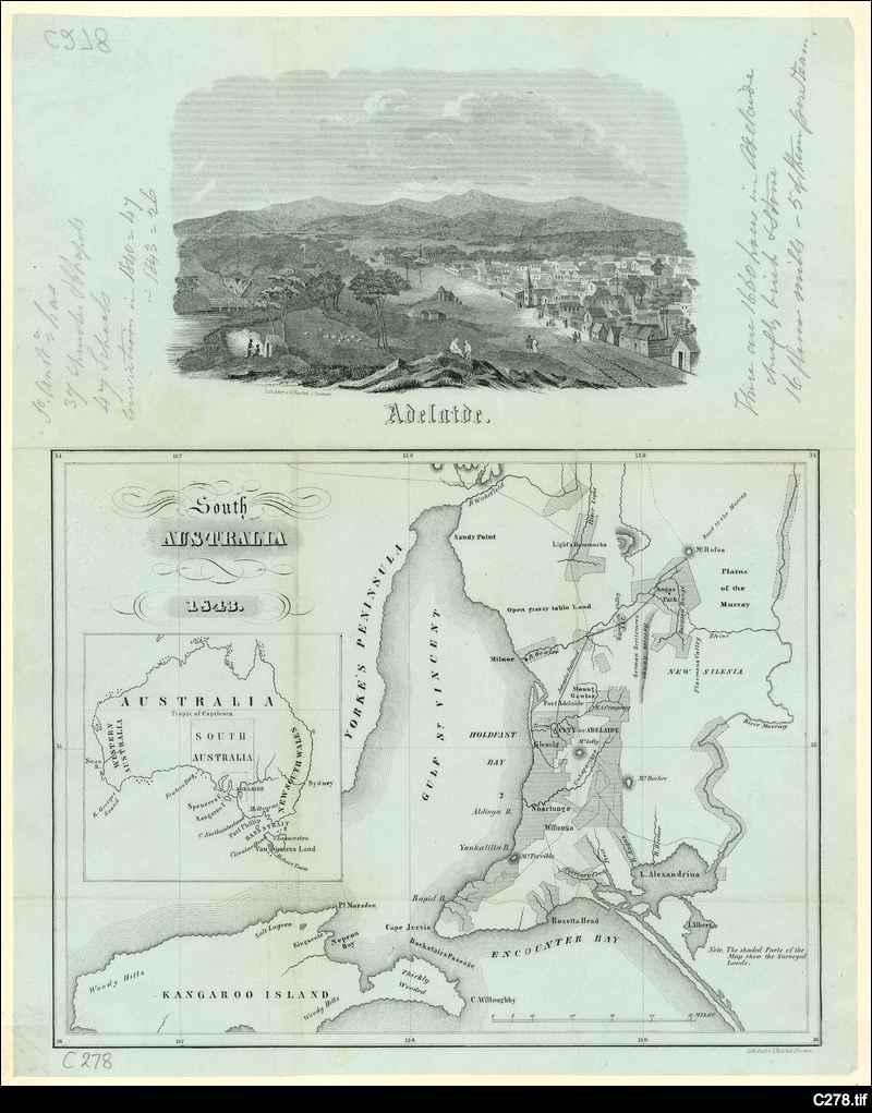 Map of South Australia