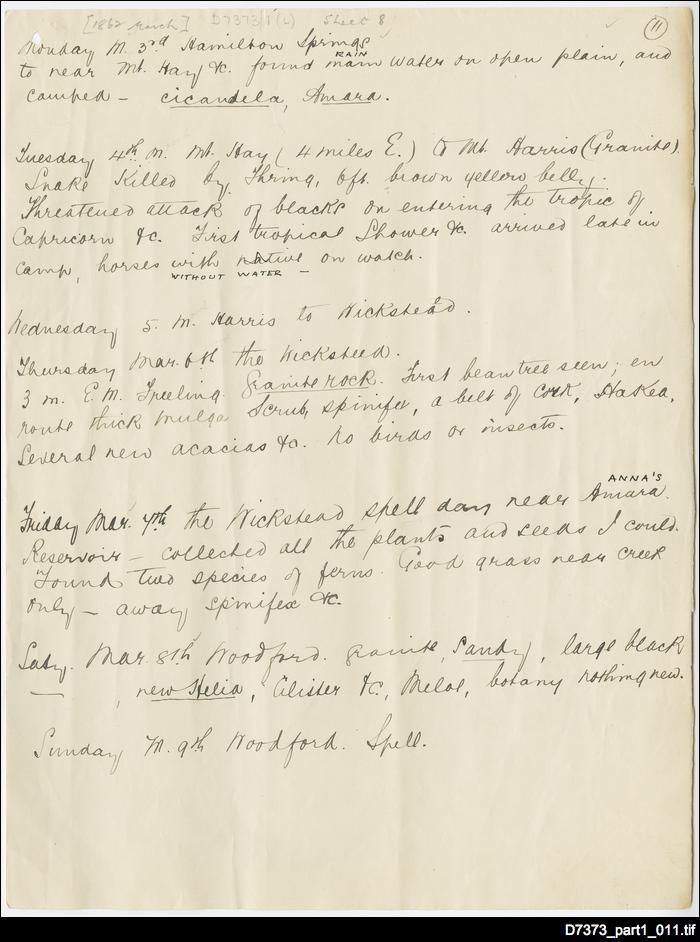 Waterhouse Notebook