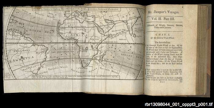 William Dampier: hydrographer and naturalist
