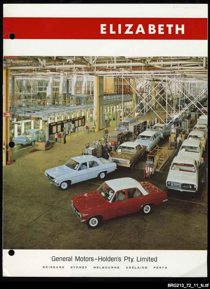 Holden factory at Elizabeth
