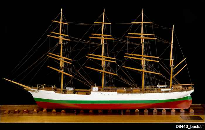 Herzogin Cecilie ship model