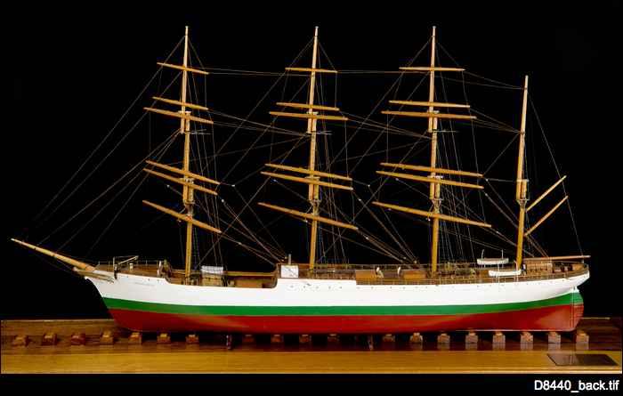 Herzogin Cecilie ship model