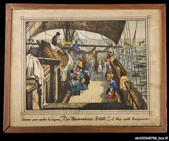 Emigrant ship puzzle