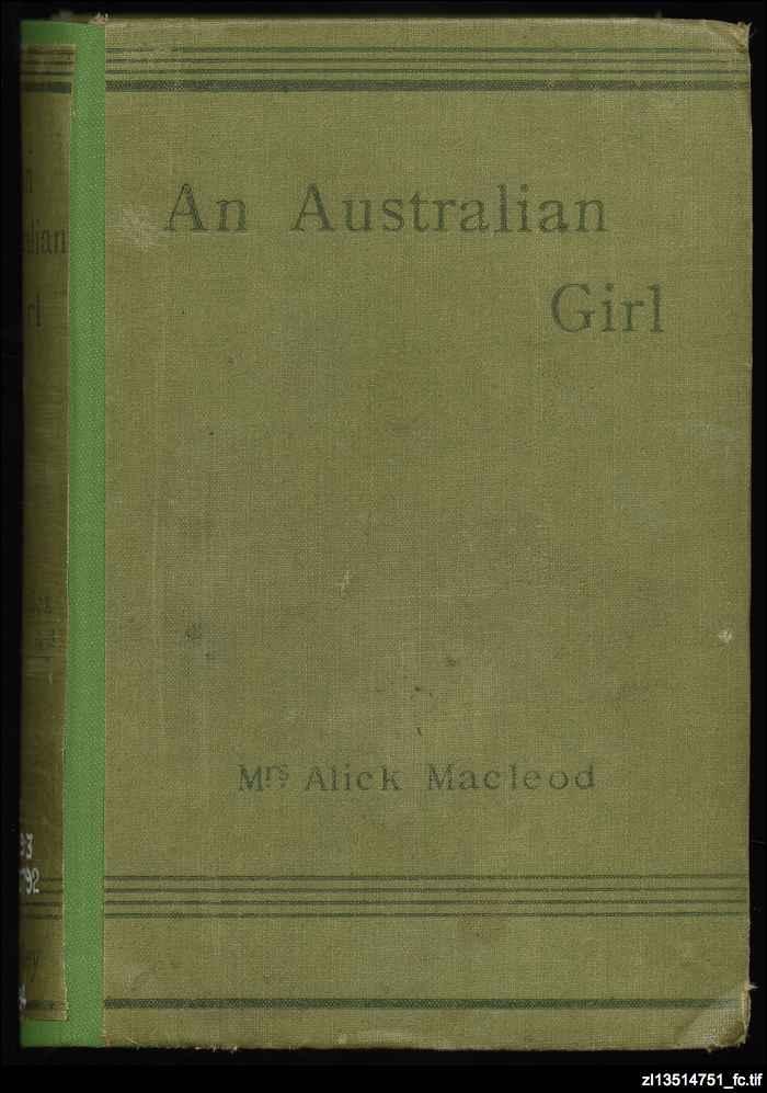 An Australian girl : Catherine Martin