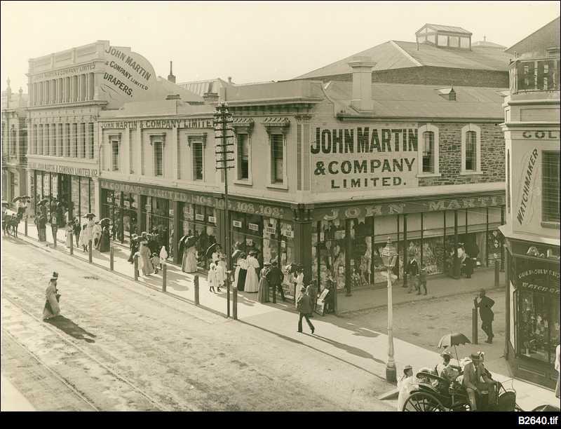 John Martin's department store