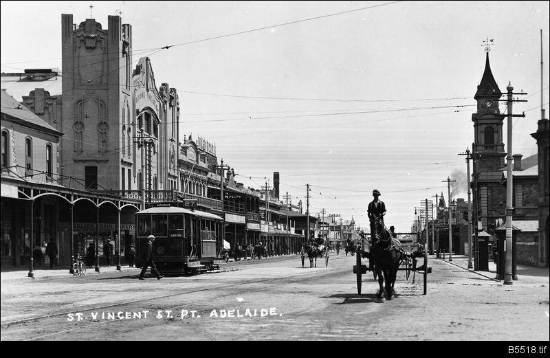 St Vincent Street, Port Adelaide