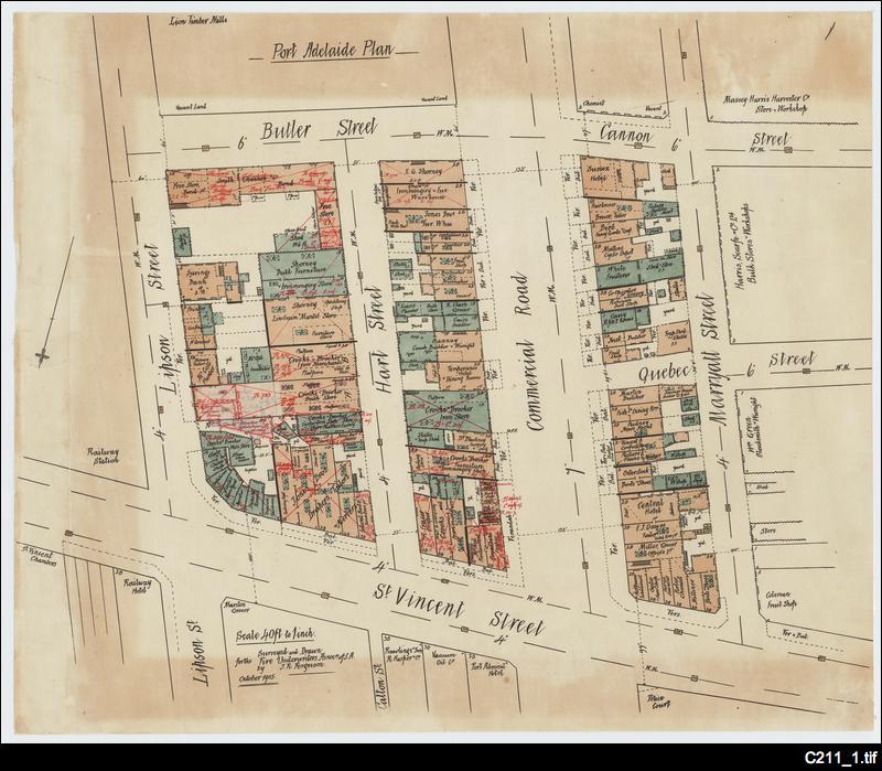 Fire insurance plan: Port Adelaide