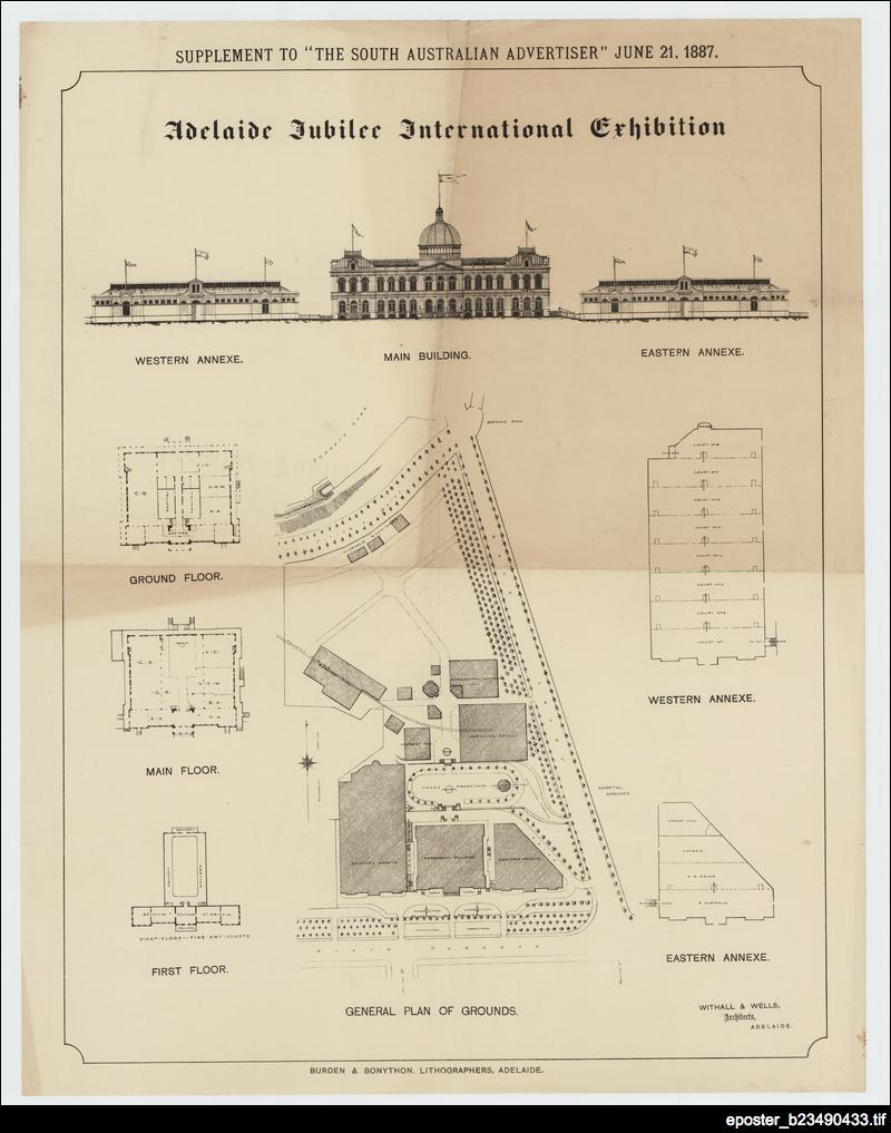 Adelaide Jubilee International Exhibition : [poster]
