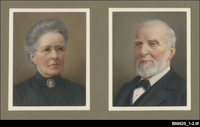William and Jane Isbister