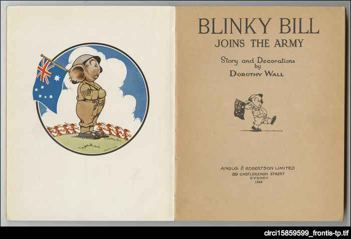 Blinky Bill joins the army