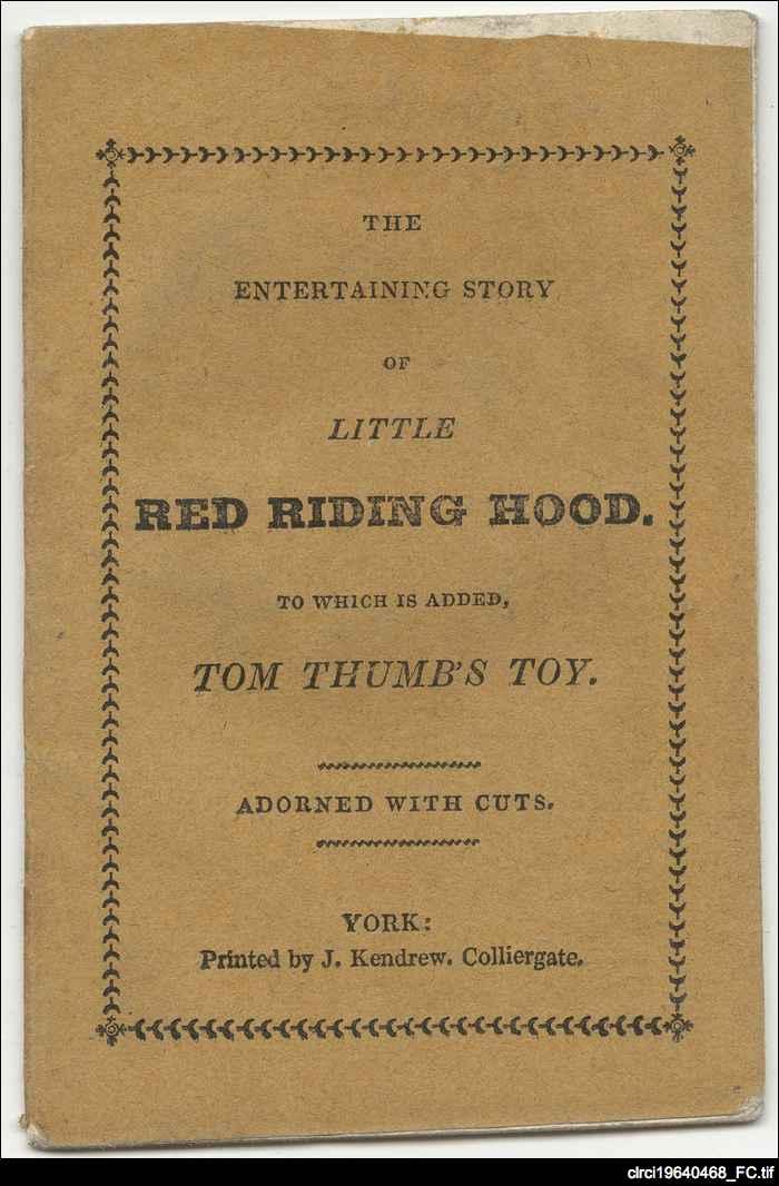 Little Red Riding Hood Chapbook