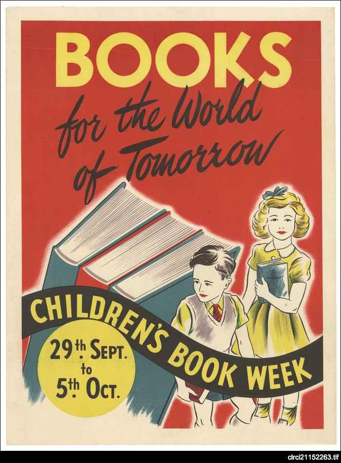 Children's Book Week posters