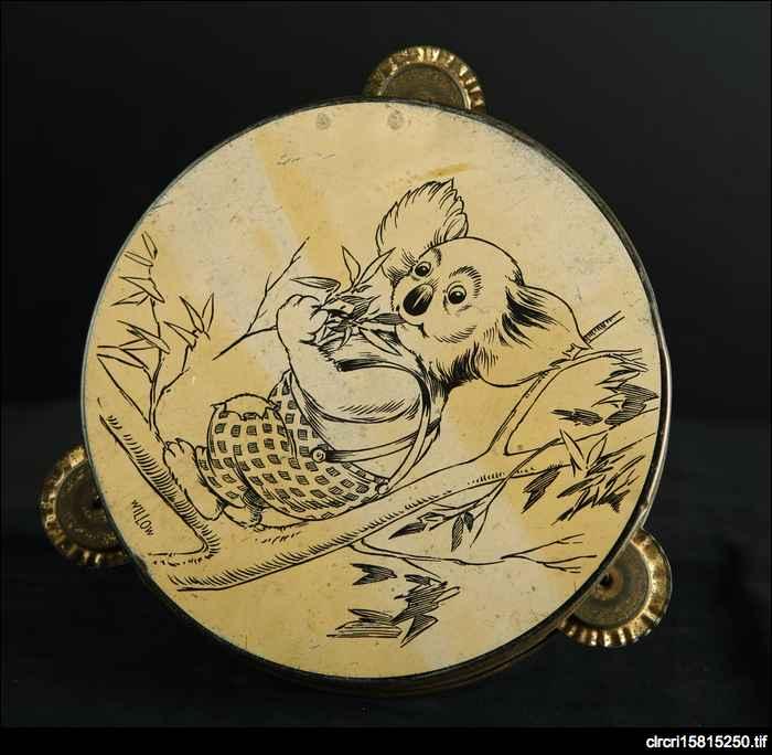 Blinky Bill tambourine