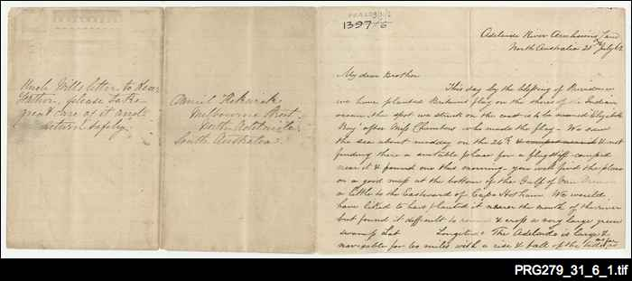 Letter from Adelaide River