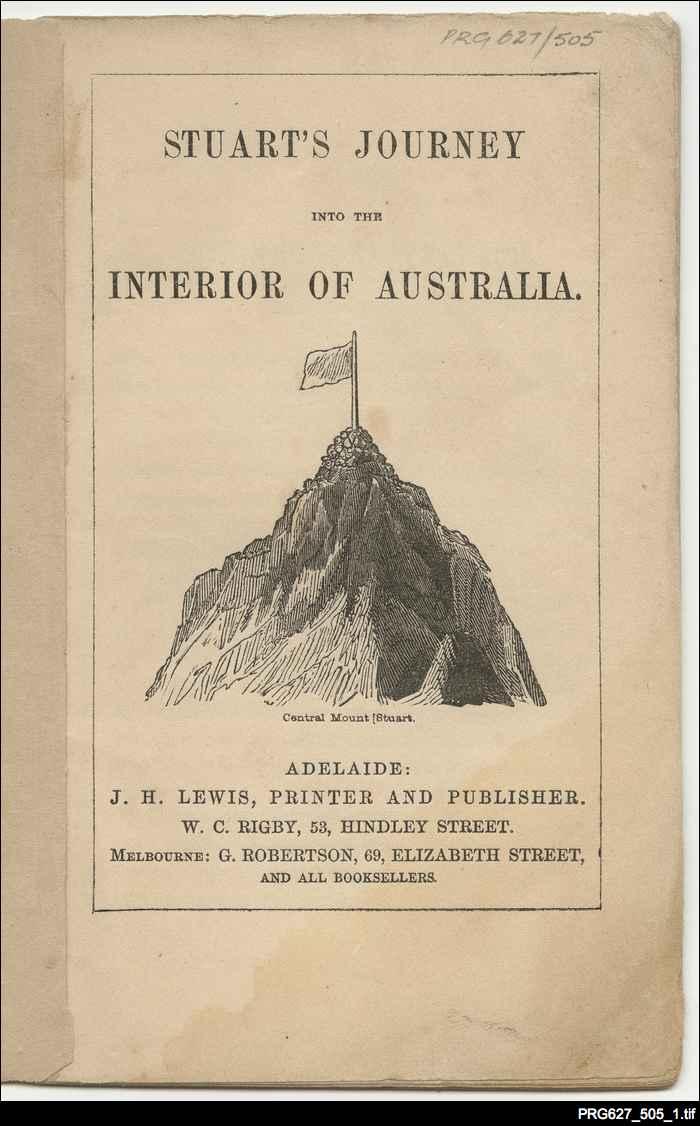 Stuart's journey into the interior of Australia