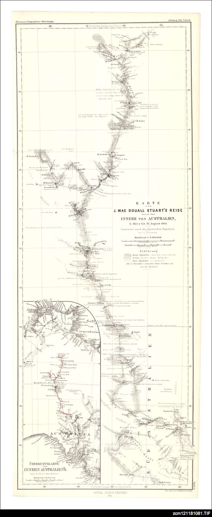 Fourth expedition map